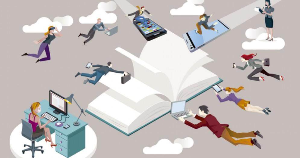 Le grandi società incoraggiano il personale a sviluppare professioni correlate