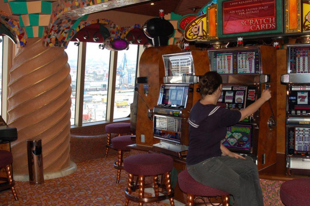 Una buona percentuale delle truffe è stato giocato alle slot machine