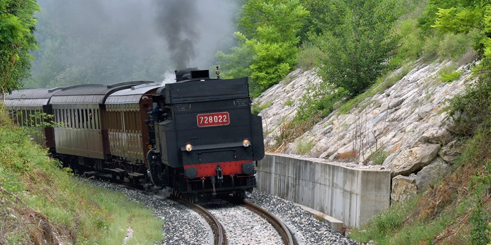 Monteli (Meduno). Il luogo dove si verificò l'incidenteal treno Minuetto nel 2012