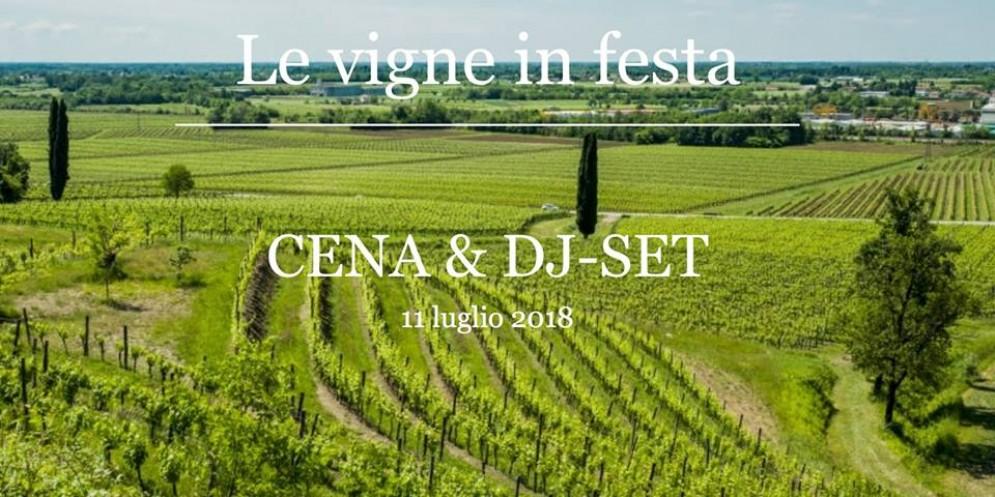 'Le Vigne in Festa': cena & dj set a Buttrio
