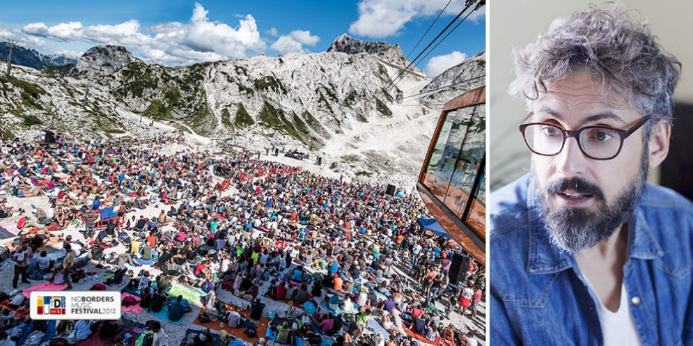 No Borders Music Festival: Brunori Sas al 'Concerto in alta quota'