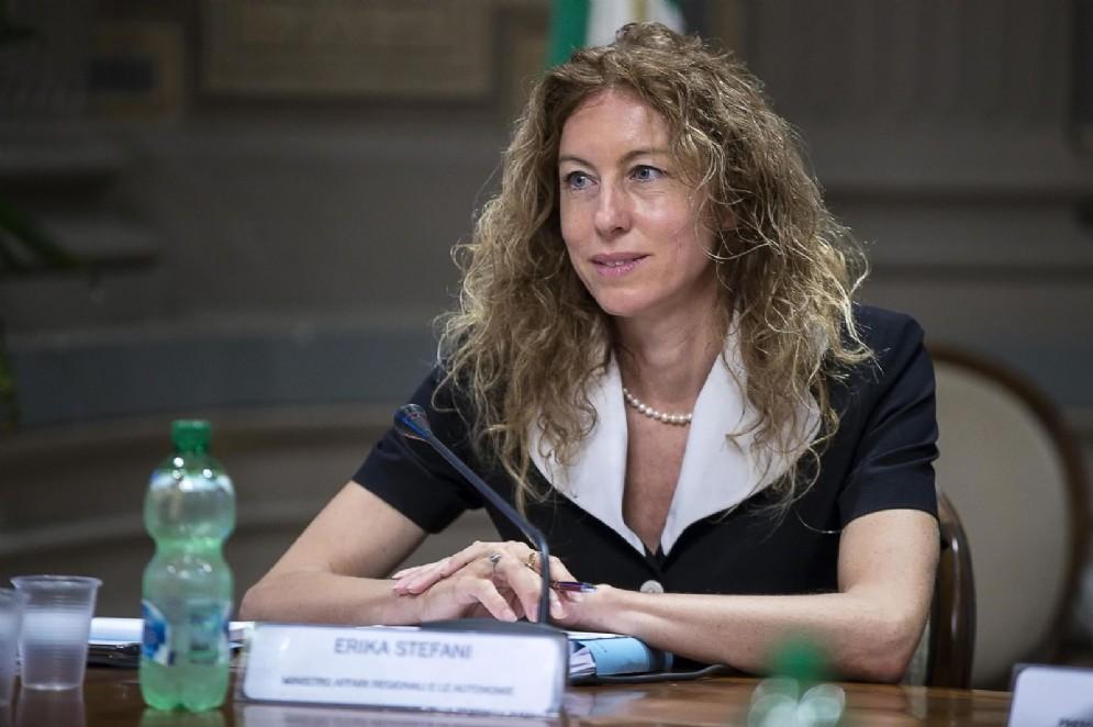 Ministro degli Affari regionali, Erika Stefani