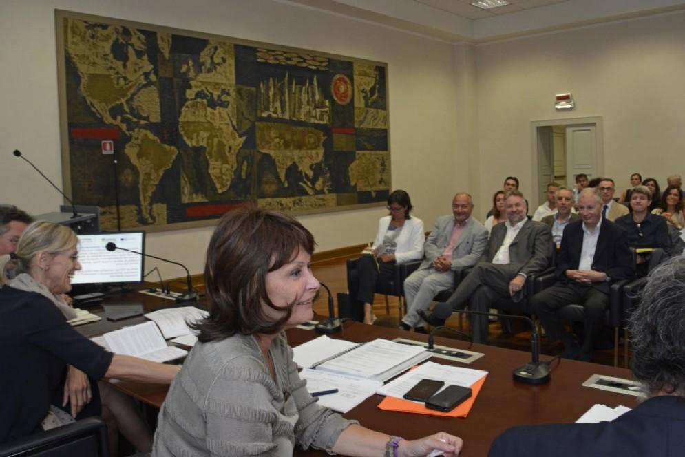 Assessore regionale al Lavoro, Alessia Rosolen e l'incontro con enti di formazione