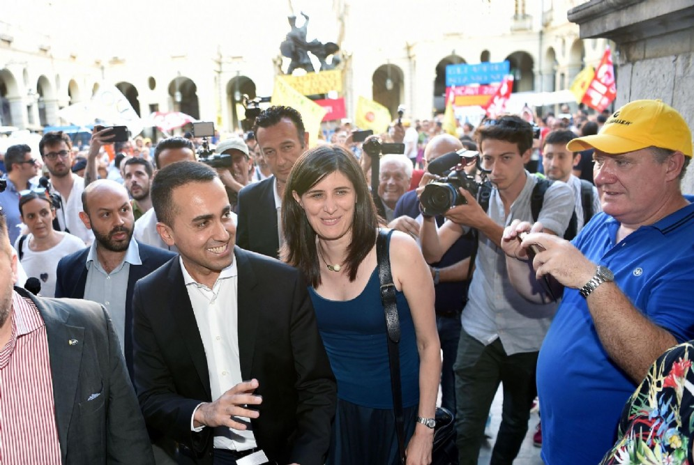 Luigi Di Maio e Chiara Appendino