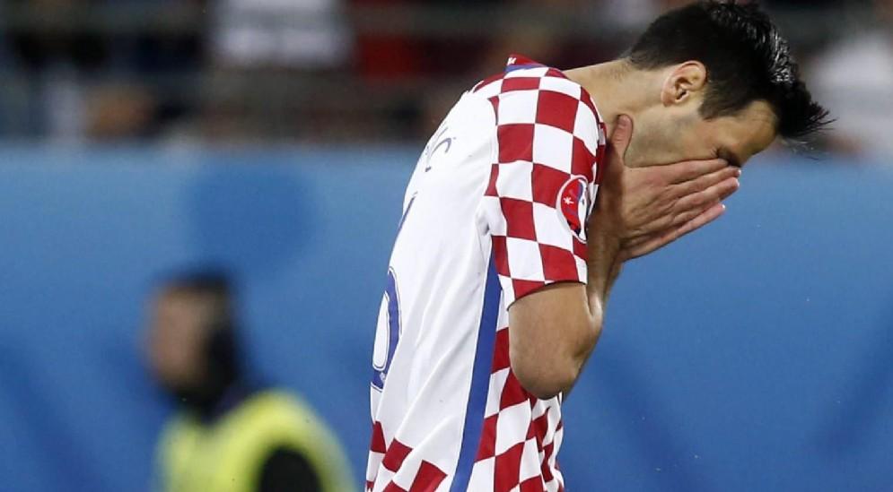 Nikola Kalinic, centravanti del Milan e della nazionale croata