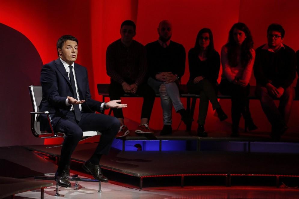 Matteo Renzi a 'Bersaglio Mobile' su La7