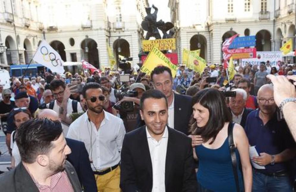 Di Maio incontra i lavoratori di Italiaonline