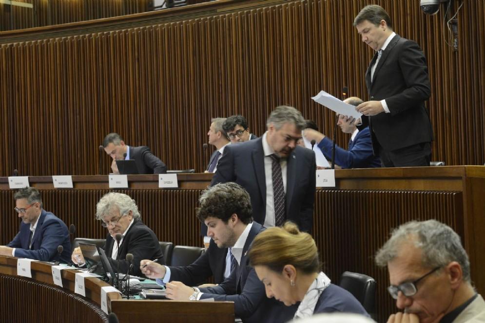 Intervento del consigliere regionale Andrea Ussai