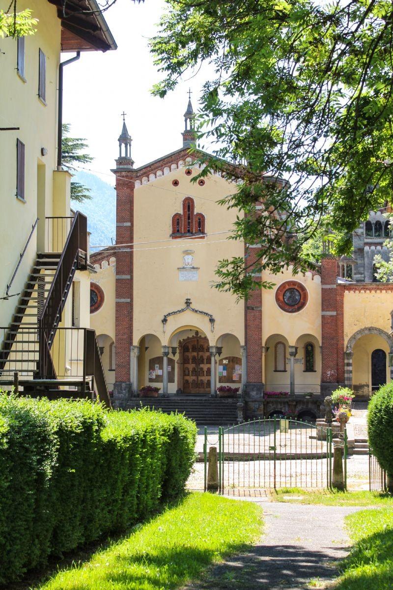 La chiesa di Rosazza