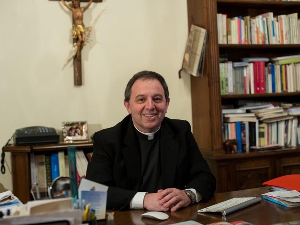 Vescovo della diocesi di Ventimiglia-Sanremo, Antonio Suetta