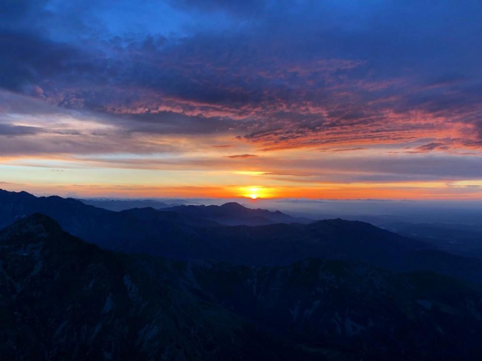 I colori dell'alba