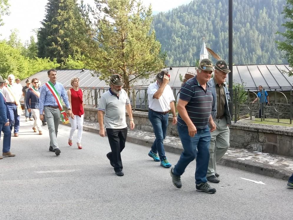 Cerimonia per i fucilati a Cercivento insieme all'assessore regionale Barbara Zilli