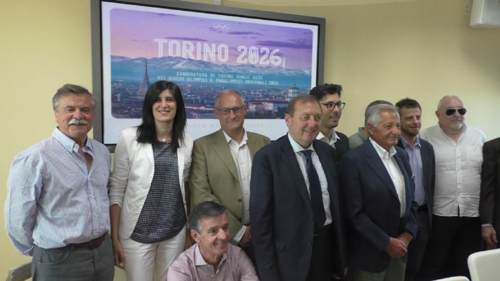 Conferenza stampa di presentazione del pre dossier olimpico