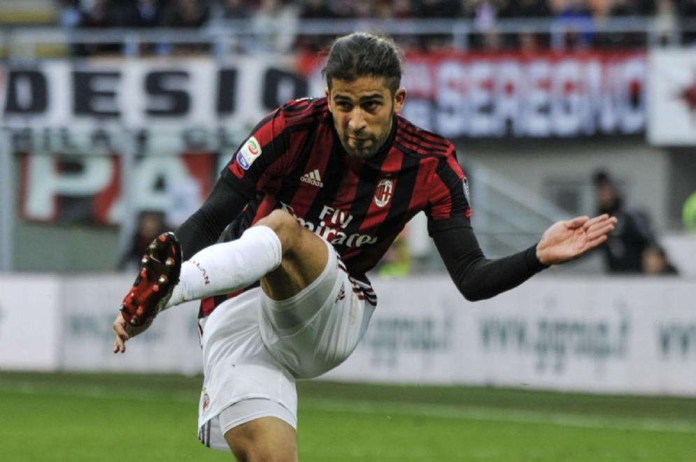 L'esterno svizzero del Milan Ricardo Rodriguez