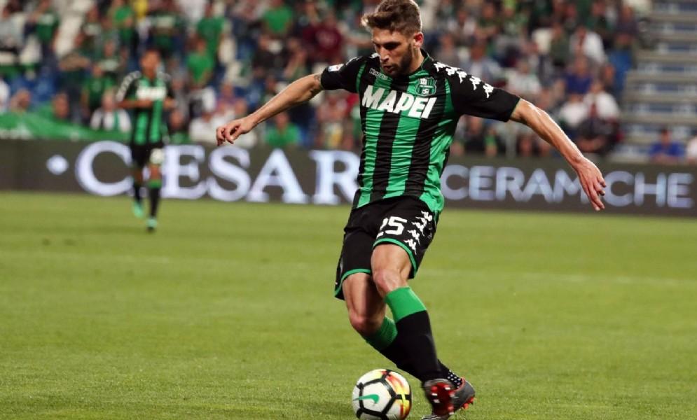 L'attaccante del Sassuolo Domenico Berardi
