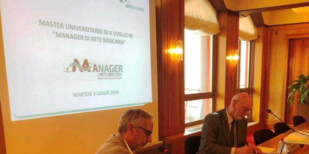 Presentazione Mater di II livello. Paolo Fiorentino, amministratore delegato di Banca Carige