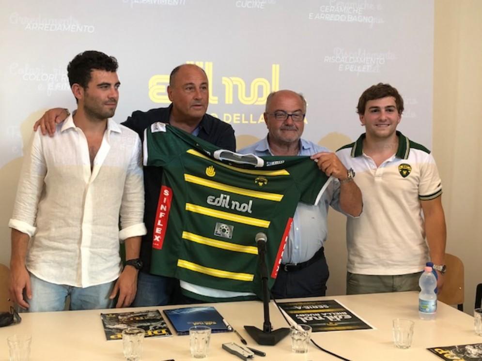 Edilnol-Biella Rugby, rinnovato l'accordo