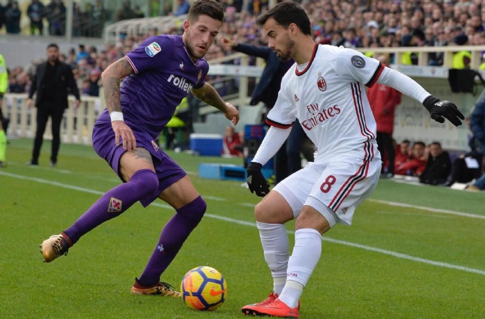 Cristiano Biraghi, terzino della Fiorentina