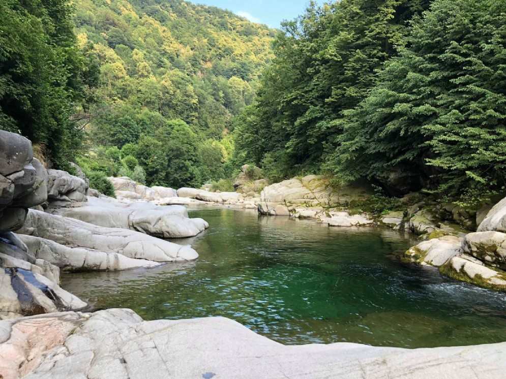 Il torrente Cervo