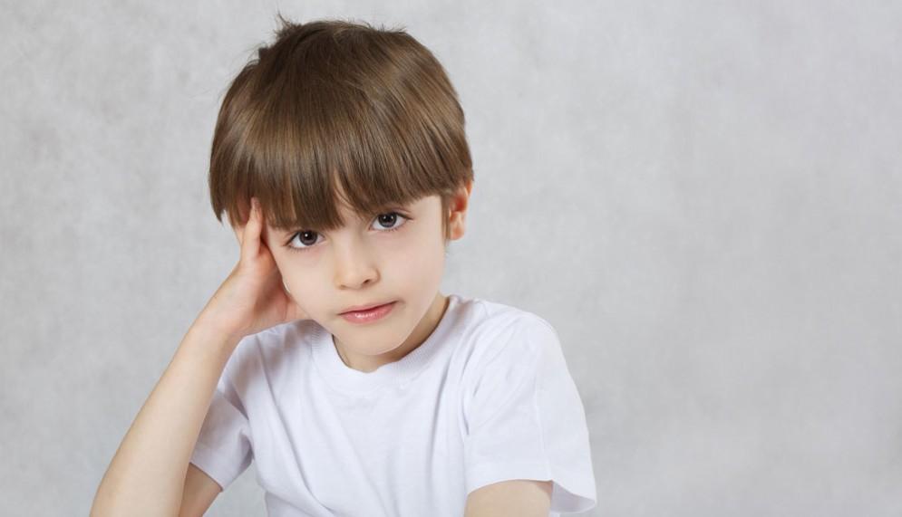 Un bimbo di 6 anni affetto da Alzheimer - Immagine rappresentativa