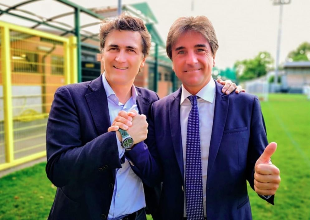 Nella foto il presidente di ANCI Piemonte, Alberto Avetta ,e il vicepresidente vicario di ANCI nazionale, Roberto Pella