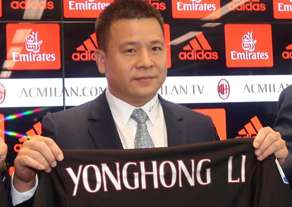 Il proprietario del Milan Yonghong Li