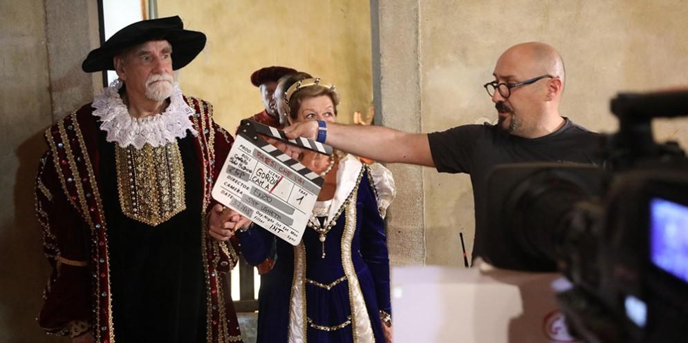 Rai1 nel castello di Gorizia con Massimiliano d'Asburgo