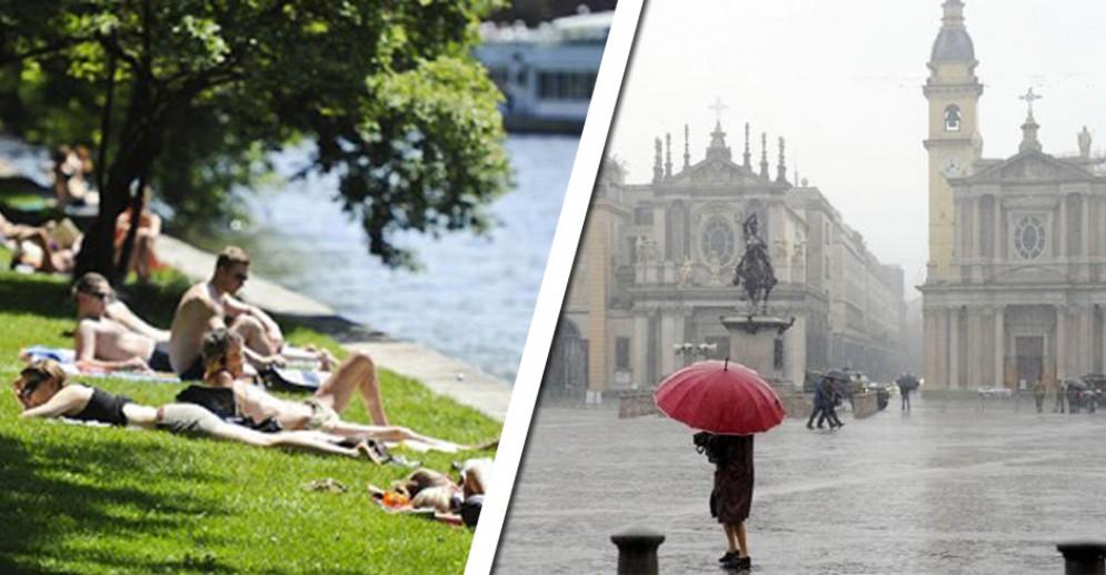 Meteo a Torino, tempo instabile nei prossimi giorni: sole e temporali