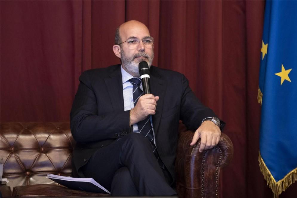 Il sottosegretario all'Editoria Vito Crimi, del Movimento 5 stelle