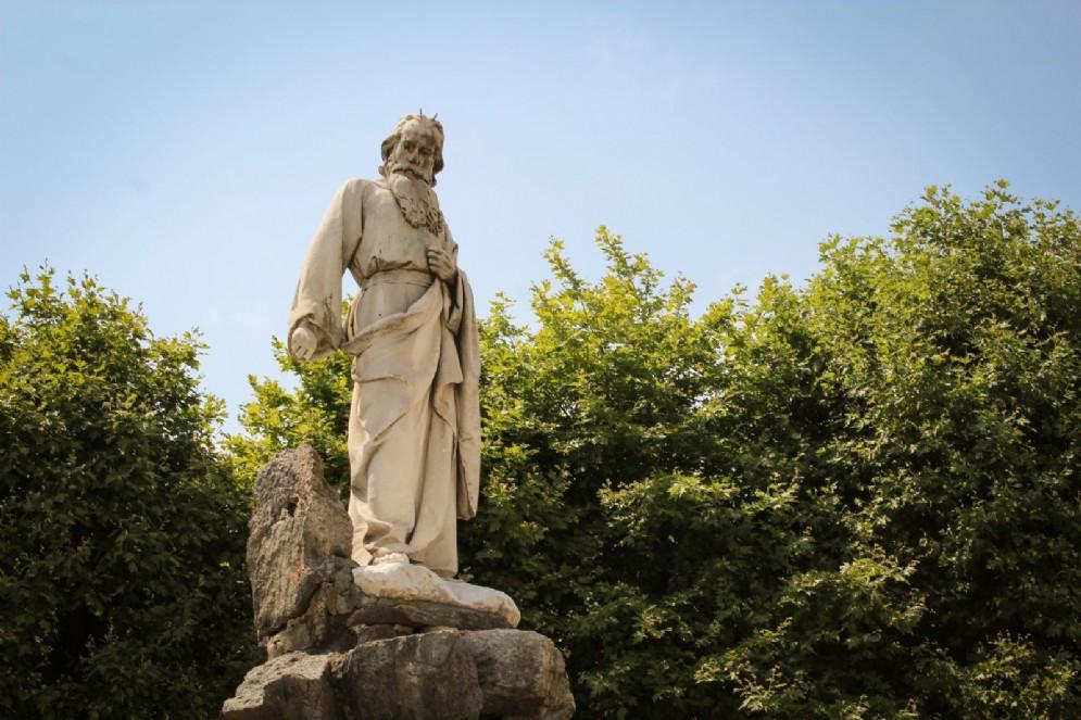 La fontana del Mosè