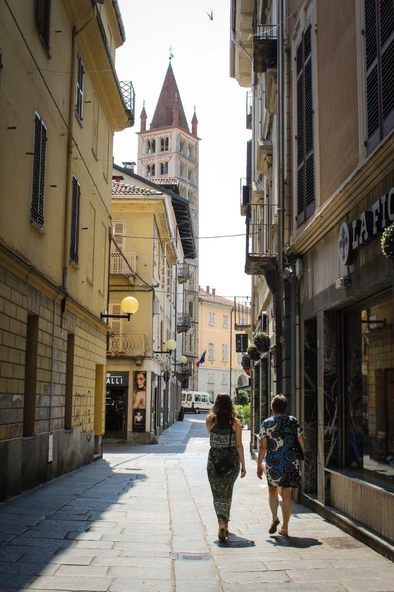 Scorcio sul campanile del Duomo