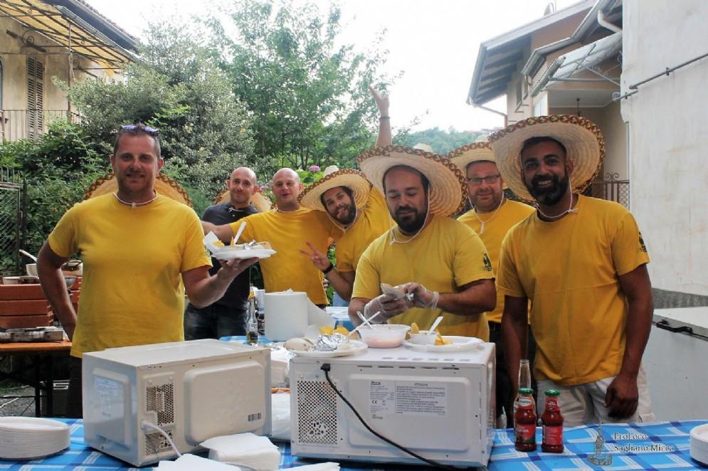 A Sagliano è tutto pronto per la Festa dei Portoni