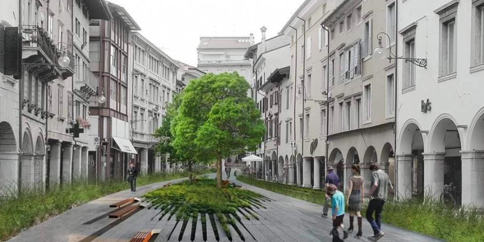 «Trasformiamo via Mercatovecchio in una piazza alberata»