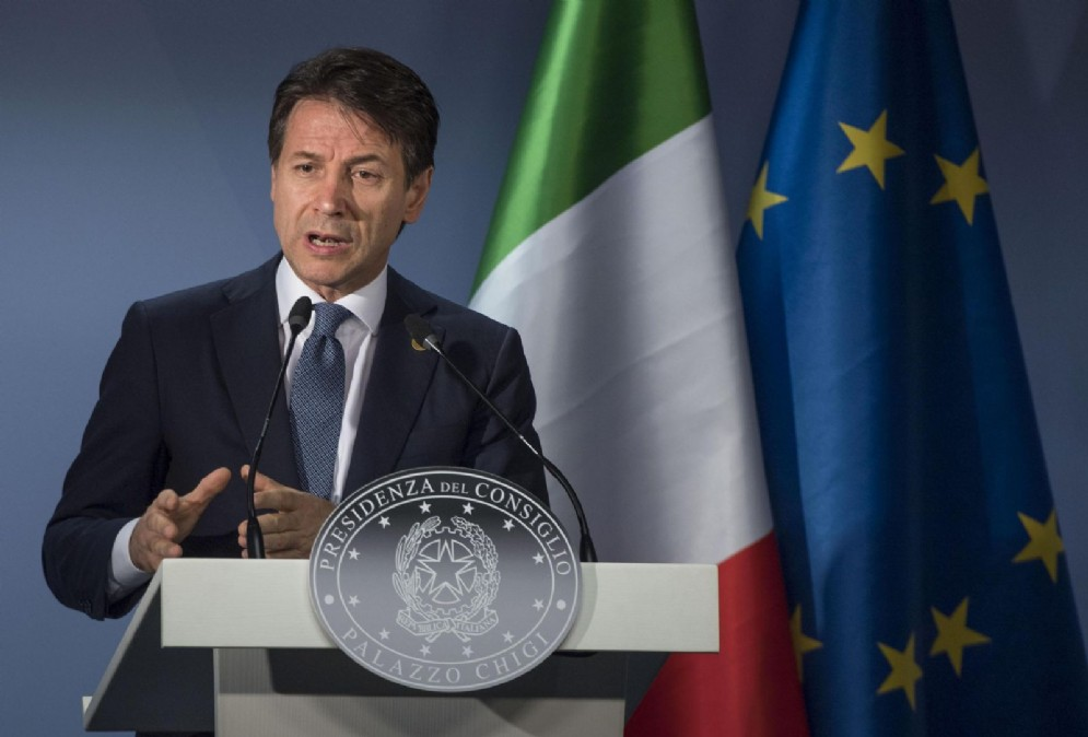 Il presidente del Consiglio, Giuseppe Conte