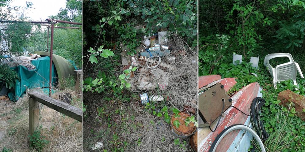 Scoperta l'ennesima discarica abusiva: a Grado Pineta rifiuti a pochi metri dal mare