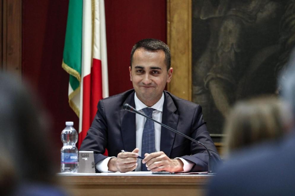 Il ministro del Lavoro e dello Sviluppo economico Luigi Di Maio