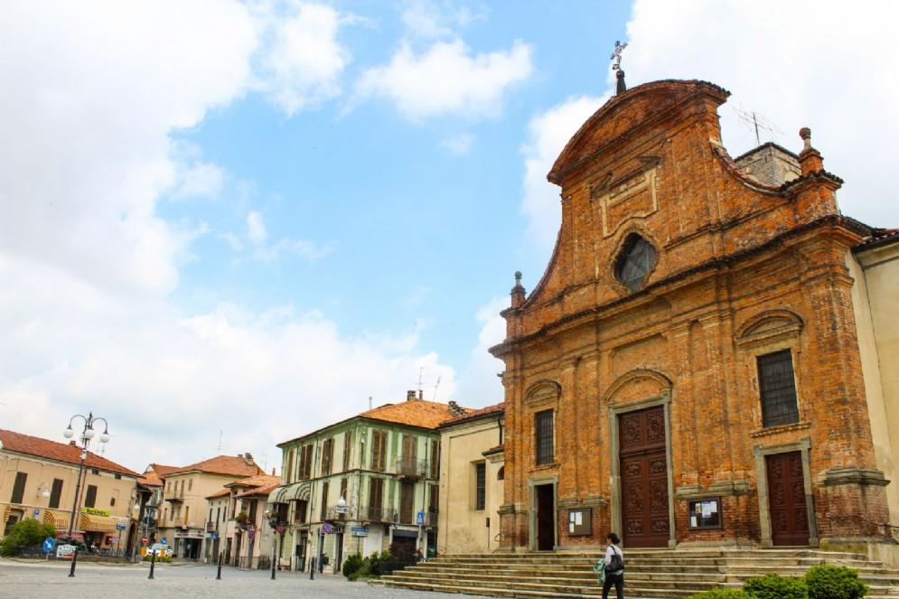 La chiesa parrocchiale di San Lorenzo