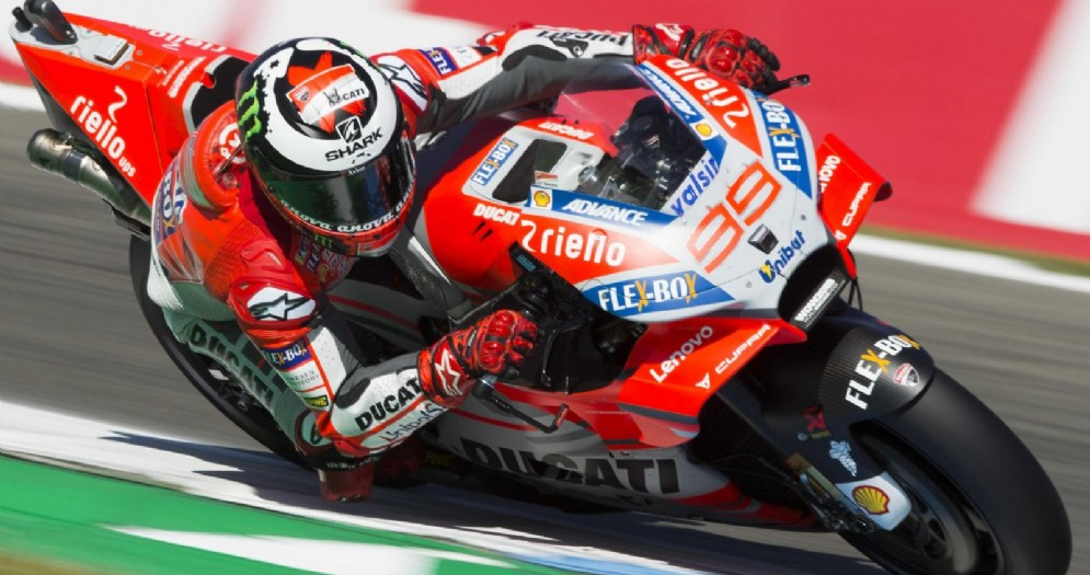 Jorge Lorenzo sulla Ducati 99