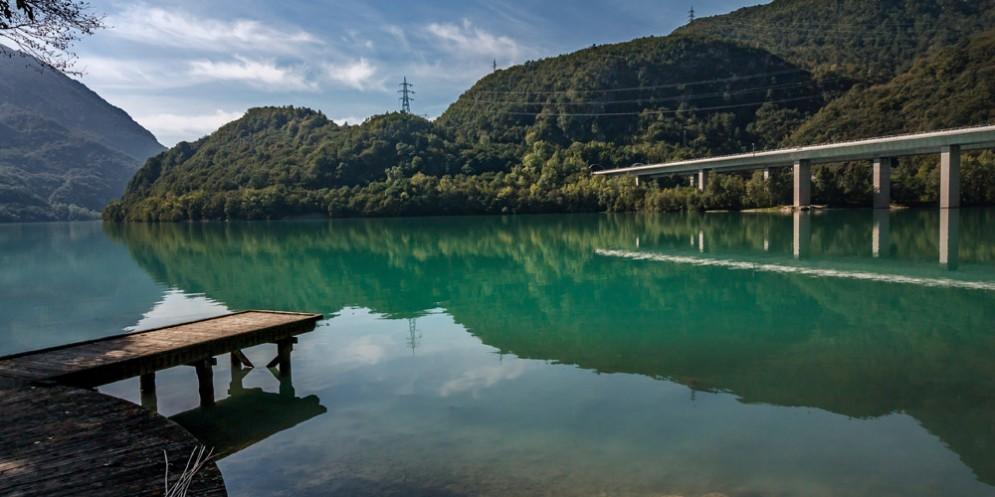 'Goletta laghi' in Fvg: al lago di Cavazzo conclusa la missione