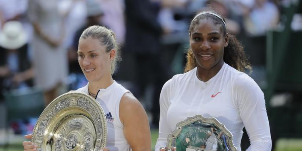 Angelique Kerber e Serena Williams