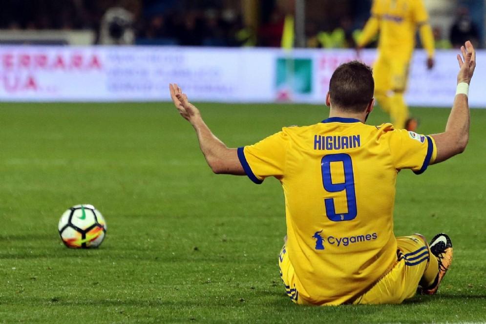 Gonzalo Higuain, centravanti della Juventus e della nazionale argentina
