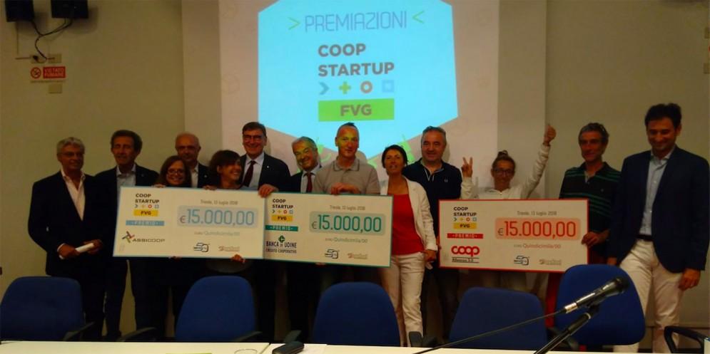 Coopstartup Fvg: 'Coopmont', 'Rete Bike Fvg' e 'Oltre i Grembani' sono i tre progetti vincitori