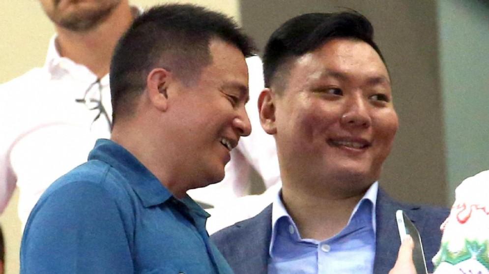 Yonghong Li e Han Li, al tempo ancora sorridenti