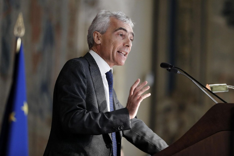 Tito Boeri, presidente dell'INPS, in una recente immagine d'archivio