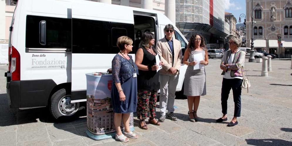 'Comune mobile': realizzato grazie al sostegno della fondazione CRTrieste