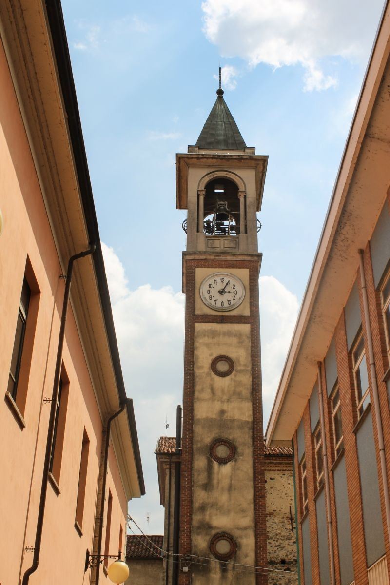 Il campanile della chiesa