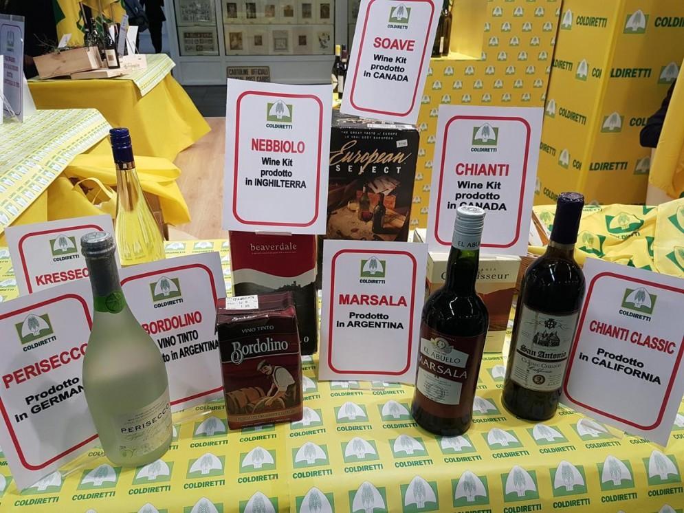 Falsi vini italiani