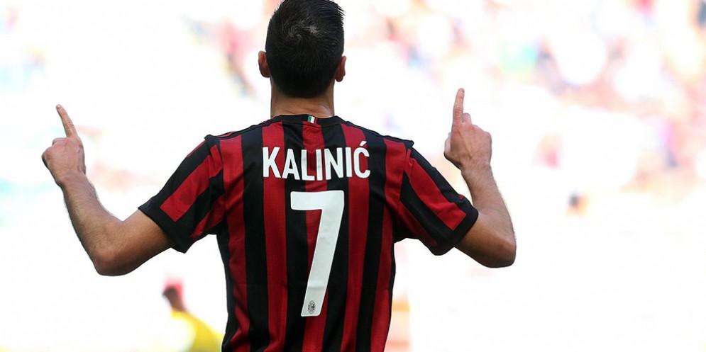 L'attaccante croato del Milan Kalinic