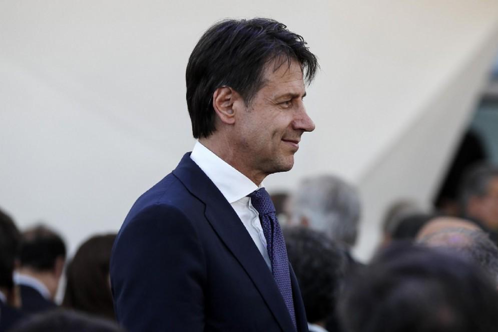 Il presidente del Consiglio dei Ministri, Giuseppe Conte. Roma, 18 luglio 2018