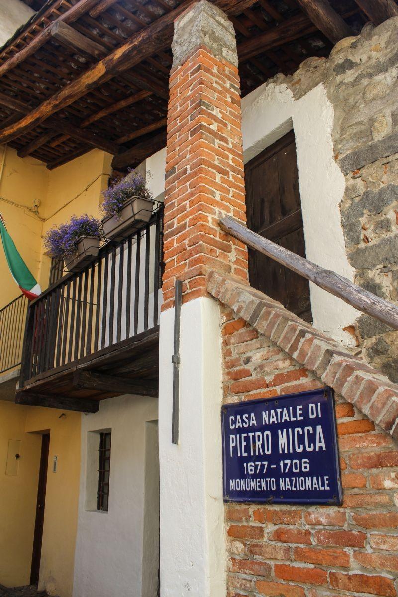 La casa natale di Pietro Micca